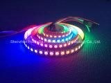 Farbenreicher SMD5050 Streifen des RGB-IP20 Chip-144LEDs 43.2W DC12V LED
