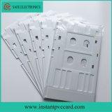 Bandeja de cartão branca da identificação do PVC do Inkjet da cor para a impressora de Epson L800