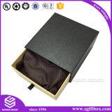 Rectángulo de papel de empaquetado del cajón del direccionamiento del regalo de encargo de la impresión