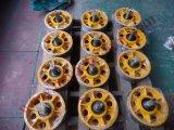 Ascensor de tracción del motor deflector roldana