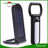 Lâmpada solar multifuncional 12 LEDs Outdoor Camping Light Luminárias de mesa de mesa criativas Luz solar portátil de LED