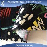 La alta calidad imprimió la tela de nylon de Bengaline del estiramiento del rayón de la tela cruzada
