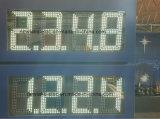 индикация знака изменителя газовой цены 12inch СИД (NL-TT30F-3R-DM-4D-White)