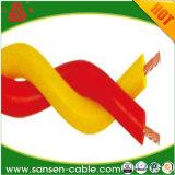 Pvc van Rvs isoleerde de Flexibele Tweeling Verdraaide Verdraaide Draad van de Elektro/Stroom Kabel