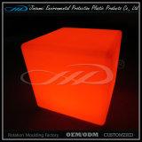 De Materiële Rotatie Plastic Moderne Binnen LEIDENE van het Afgietsel LLDPE Stoel van de Kubus