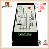 Multimètre numérique de pouvoir de tension à C.A. 100A 5in1 de temps actuel d'énergie