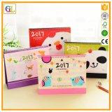 昇進のギフトのペーパー印刷の卓上カレンダー(OEM-GL-008)
