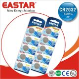 3V Cr2032 Limno2 Button Cell Batteries