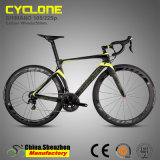 Горячее сбывание Bike дороги волокна углерода от 44cm до 54cm полный