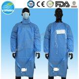 SMS Steriled chirurgisches Kleid, Wegwerfbetriebsmantel, Betriebskleid