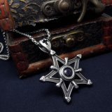Женщины звезды способа & нержавеющая сталь 316L ожерелья людей привесная