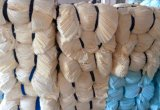 De premie Teruggewonnen Witte Vodden Bedsheet van de Besnoeiing in de Concurrerende Kosten van de Fabriek