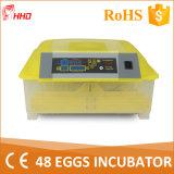 Mini incubatrice automatica trasparente dell'uovo 2016 per le uova di quaglie (YZ8-48)