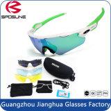 High Performance Blue Light Blocking Helmet Compatível com óculos de bicicleta