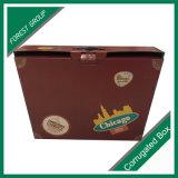 Embalaje de regalo de alimentos Kraft caja de papel de embalaje Corrugarted