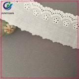 Venda por atacado de costuras de costura branca Neck Trim Lace Decorative Lace