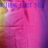 Tela teñida hilado de seda de Duppion, tela de seda de Shantung