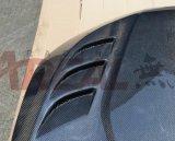 Capa de capota de fibra de carbono para Honda Civic 10th 2016