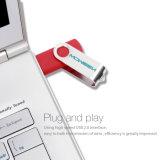 Moweek 회전대 2.0 USB 기억 장치 섬광 드라이브 선물 Pendrive