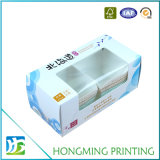 Ventana de PVC Impresión offset de cartón Blanca Caja de Alimentos