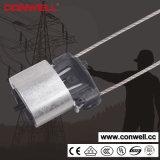 Fabricar la abrazadera de tensión Cable Pinza de anclaje del cable