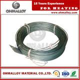 Alto estándar del alambre ASTM del surtidor 0cr25al5 de la resistencia Fecral25/5