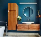 アメリカの純木の浴室用キャビネット