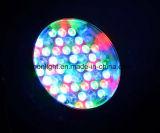 La IGUALDAD impermeable de IP65 LED puede las luces 54PCS X 3W RGBW 4 in-1 con el zoom