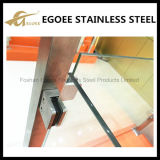 Klem van het Glas van het roestvrij staal de Vierkante