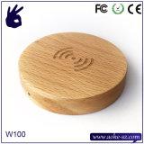 Chargeur sans fil en bois de vente de la Chine 2016 de Qi chaud de téléphone mobile