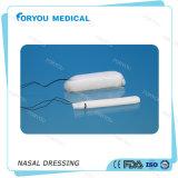 Foryouの医学の鼻の裁ち切りストリングが付いているEndoscopic鼻の着服PVA止血のスポンジのEpistaxisの鼻のドレッシング