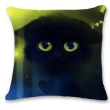 cuscino stampato a forma di animale del gatto 3D