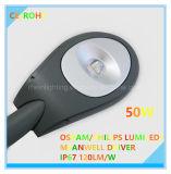 Высокая мощность 50Вт IP67 освещения улиц с маркировкой CE сертификации RoHS