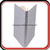 /D'aluminium métal relieuse Logo personnalisé Planificateur de l'organiseur