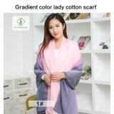 Form-Dame Scarf der Qualitäts-2018 mit Mehrfarbenfarben-Fabrik