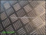 Kontrolleur-Gummimatten-Blatt, Gleitschutzgummibodenbelag, Fußboden-Matte