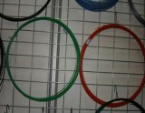 Провод утюга PVC Coated Wire/PVC зеленого черного цвета