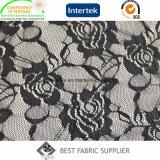 Повелительницы ткани ткани шнурка полиамида сделанной по образцу Одевать 100% Rose Ткани