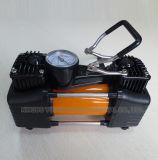 Doppelte Zylinder-Auto-Luftpumpe mit leistungsfähigem Motor