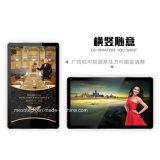 Un'affissione a cristalli liquidi da 21.5 pollici che fa pubblicità alla versione autonoma del giocatore HD Media Player 21.5 pieni