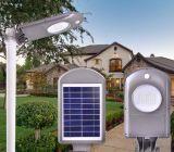 Global luz de calle solar con clase de la distribución 5W con todos en un diseño