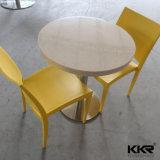 Tabella pranzante del ristorante di rettangolo di superficie solido della mobilia