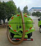 Forland 수출을%s 작은 3 Cbm 오른손 드라이브 하수 오물 흡입 트럭