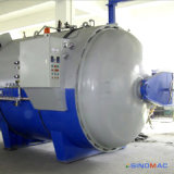 autoclave de goma de Vulcanizating del manguito de la calefacción eléctrica aprobada de 800X1500m m ASME