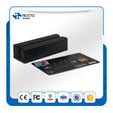 Leitor de cartão magnético portátil Hcc750u-06 das trilhas do leitor de cartão 3 do furto do USB