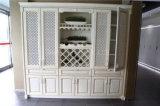 Haute brillance des armoires de cuisine moderne en bois massif