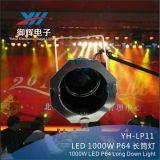 langer Zylinder 1000W Poliersilbernes NENNWERT 64 Stab-Verein-Aluminiumlicht
