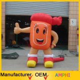 High Emulational Gonflable Golf Ball Moving Cartoon