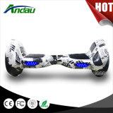 10 bicicleta de equilibrio de Hoverboard de la vespa del uno mismo eléctrico del patín de la rueda de la pulgada 2