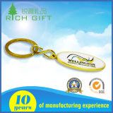 휴일 동안 주문 로고 금속 기념품 선물 Keychain는 경축한다